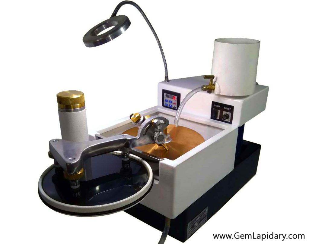 Single Faceting Machine new auto how to facet ultratec facetron imahashi sterling gems and lapidary sterlinggemland
